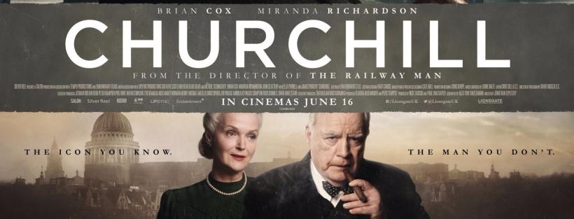Fragmento del cartel de la película Churchill