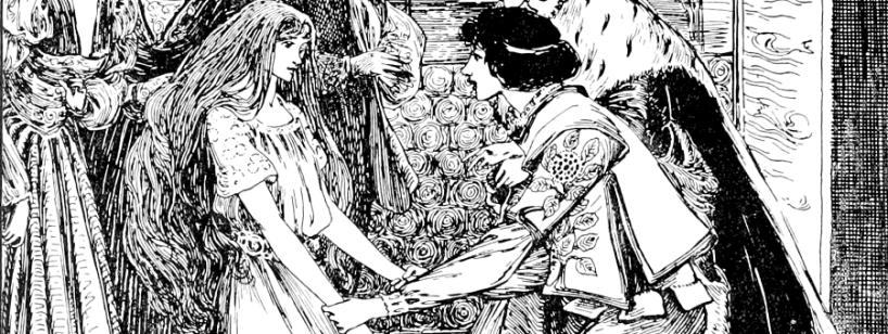 Imagen de un cuento tradicional.