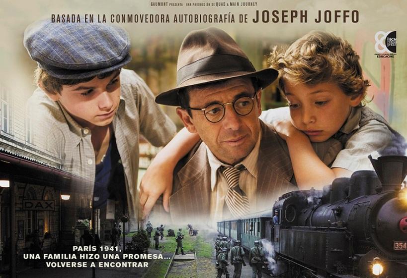 Fragmento del cartel de la película Una Bolsa de Canicas
