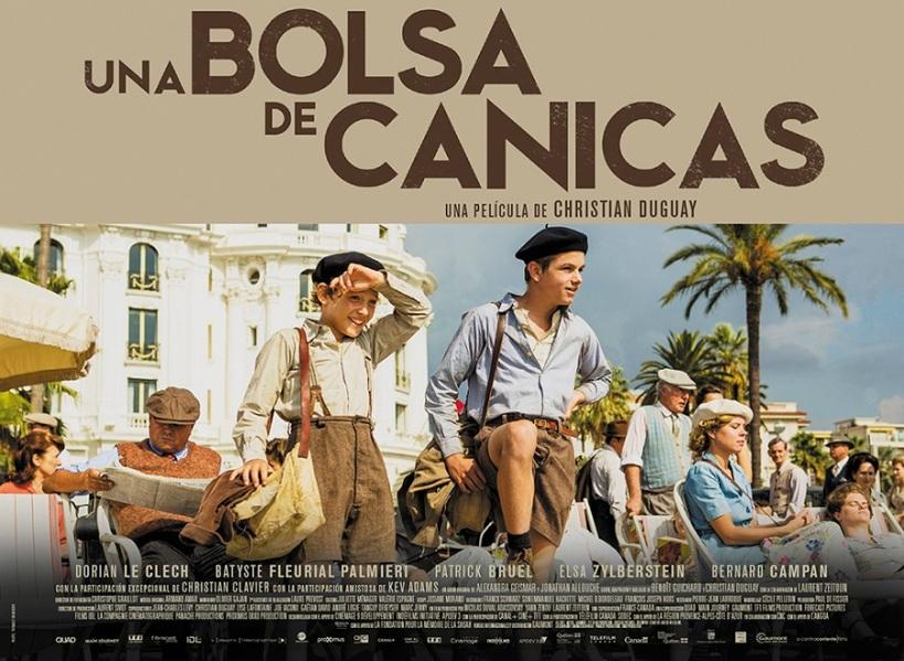 Cartel de la película Una Bolsa de Canicas