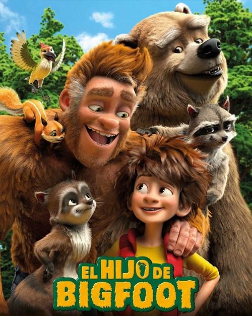 Cartel de la película EL HIJO DE BIG FOOT