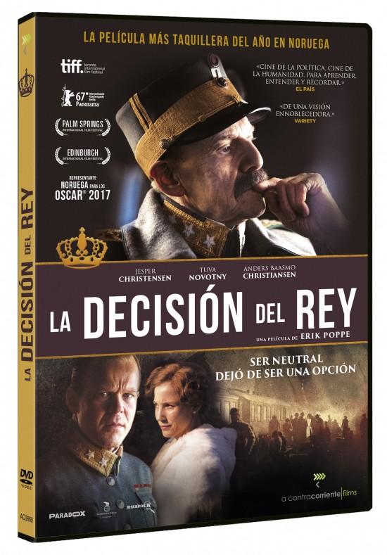 Carátula del DVD de la película La Decisión del Rey