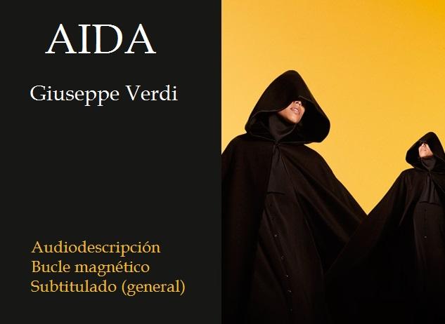 Cartel de la ópera Aida