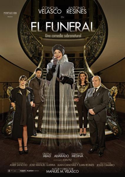Cartel de la obra El Funeral