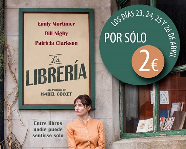 Fragmento del poster de la película La Librería