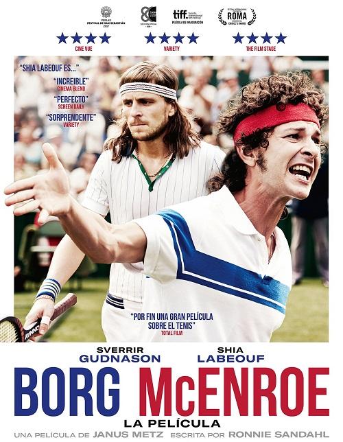 Cartel de la película BORG McENROE