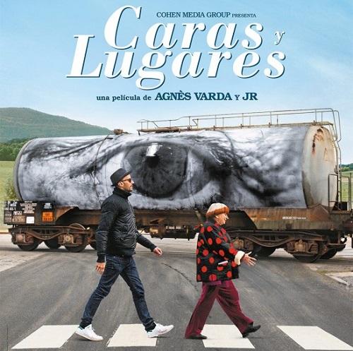 Cartel del documental Caras y Lugares