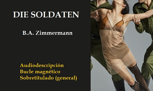 Cartel de la ópera Die Soldaten, Los Soldados