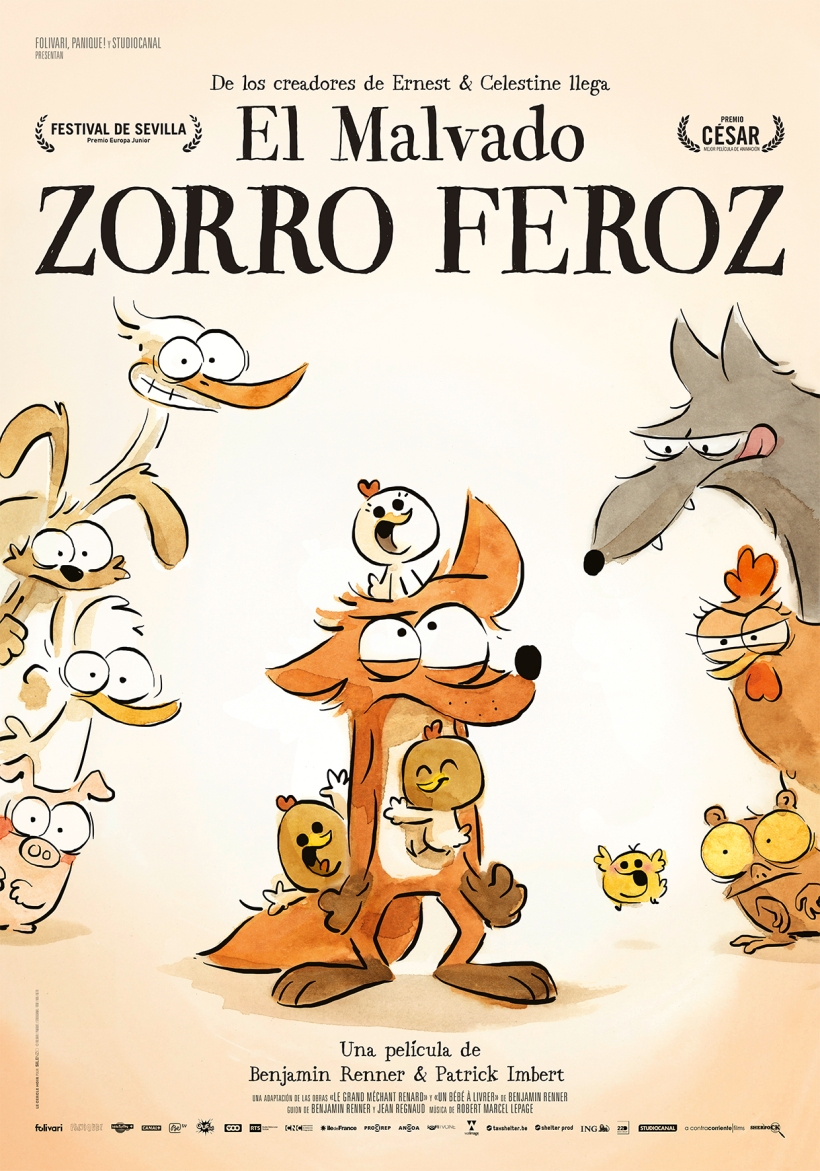 Cartel de la película El Malvado Zorro Feroz