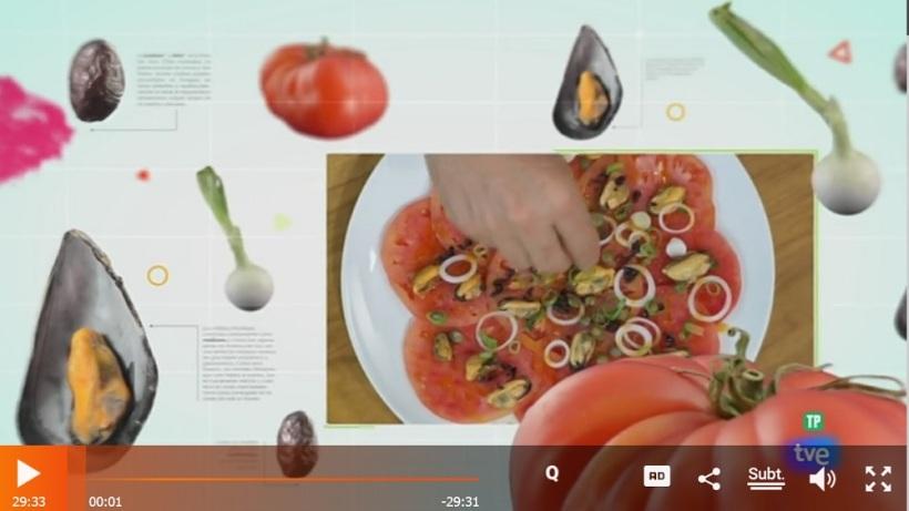 Captura de pantalla del programa Torres en la Cocina de RTVE A La Carta