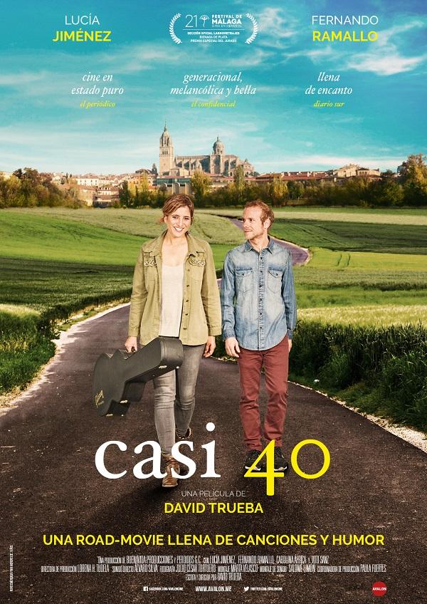 Cartel de la película Casi 40