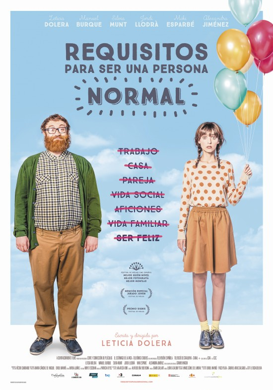 Cartel de la película Requisitos para ser una persona normal.