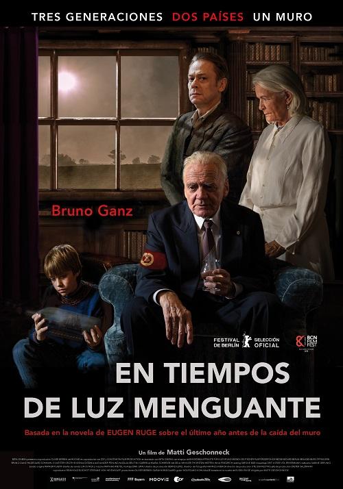 Cartel de la película En Tiempos de Luz Menguante