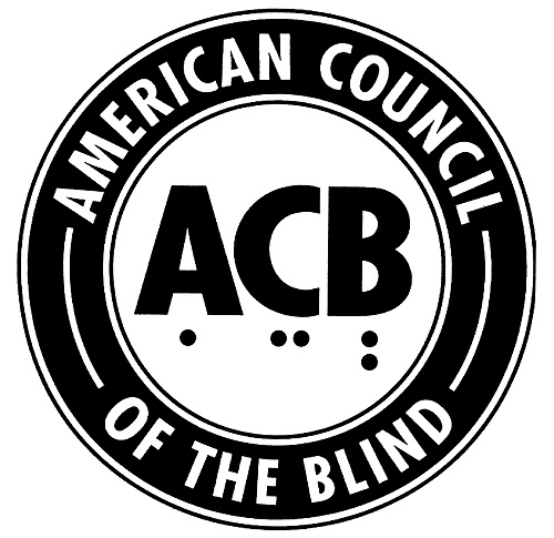 Logotipo de la American Council of the Blind