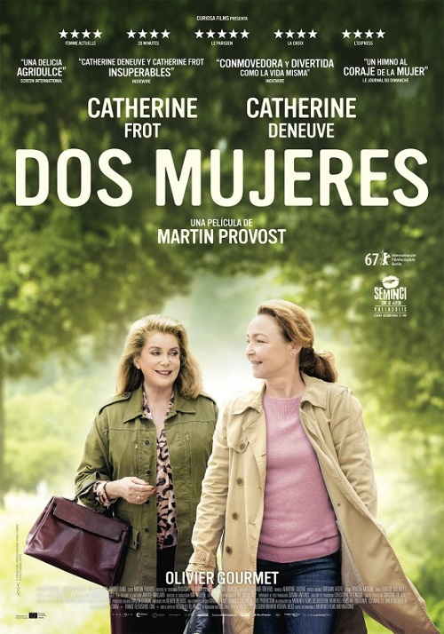 Cartel de la película Dos Mujeres, de Martin Provost