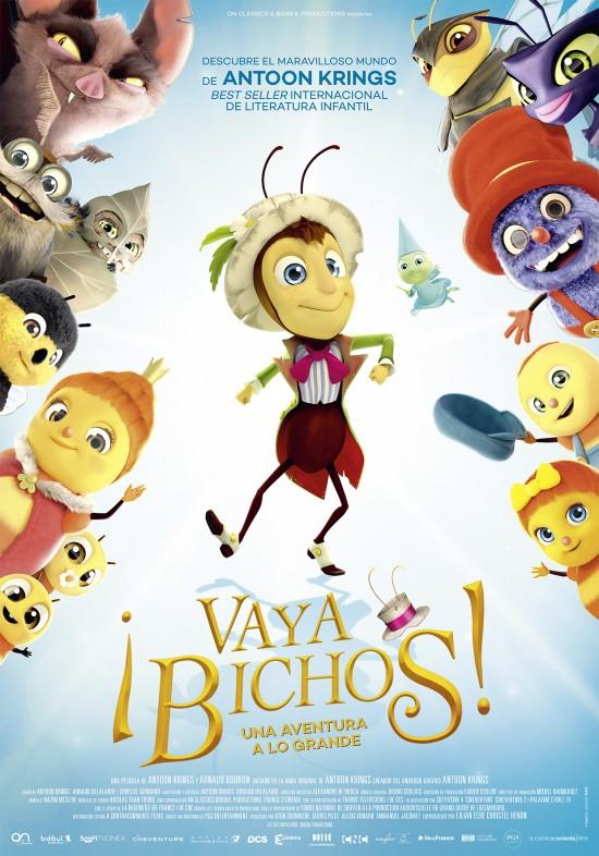 Cartel de la película de animación Vaya Bichos