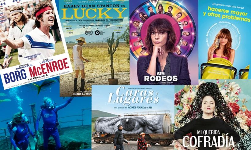 Carteles de las películas y documentales ya en venta