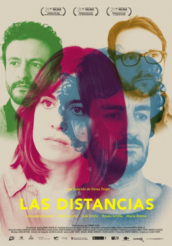 Cartel de la película LAS DISTANCIAS