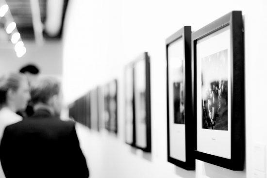 Imagen de una galería de un museo