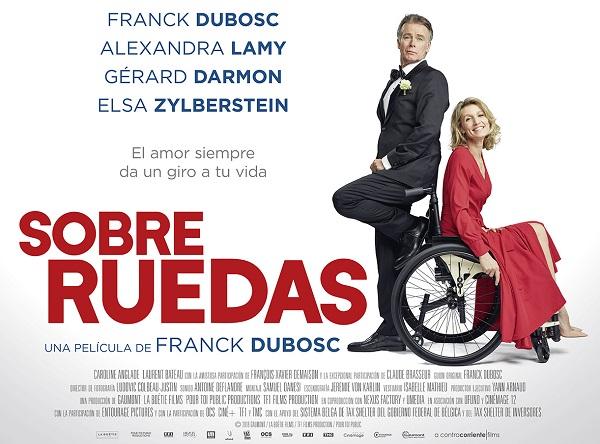 Fragmento del cartel de la película Sobre Ruedas