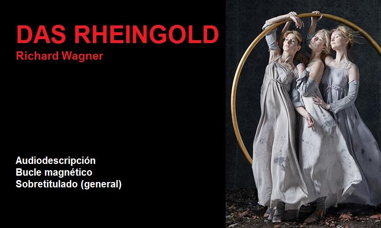 Cartel de la ópera El Oro del Rin