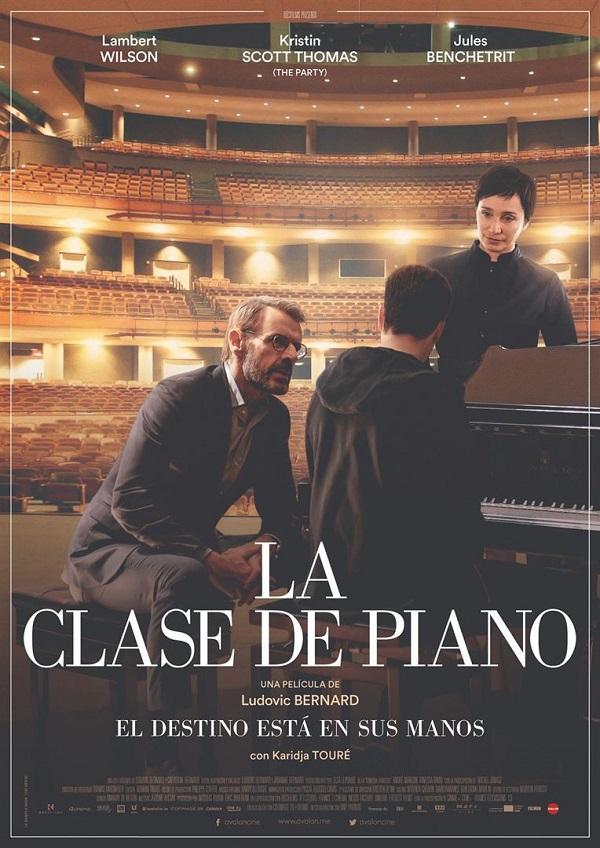 Cartel de la película la clase de piano