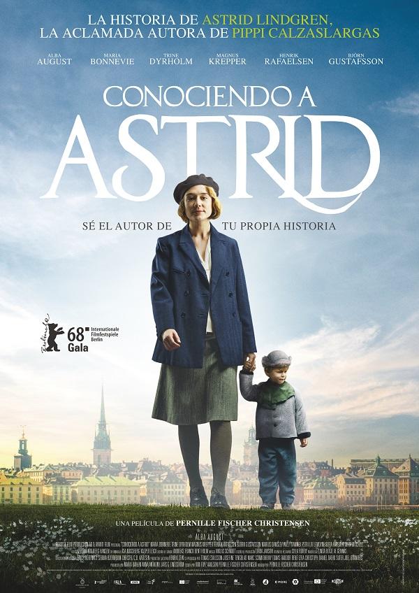 Cartel de la película Conociendo a Astrid