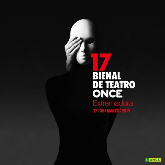 Cartel de la decimoséptima Bienal de Teatro ONCE
