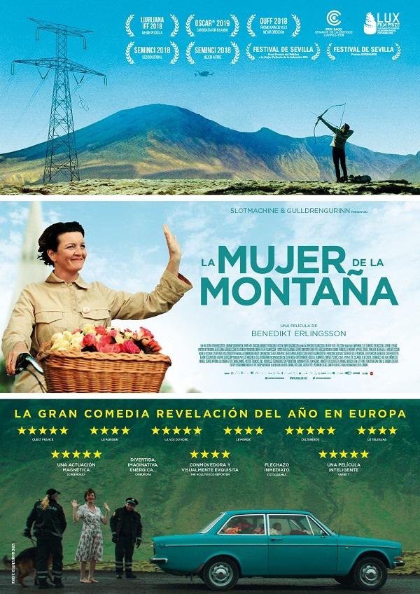 Cartel de la película La Mujer de la Montaña