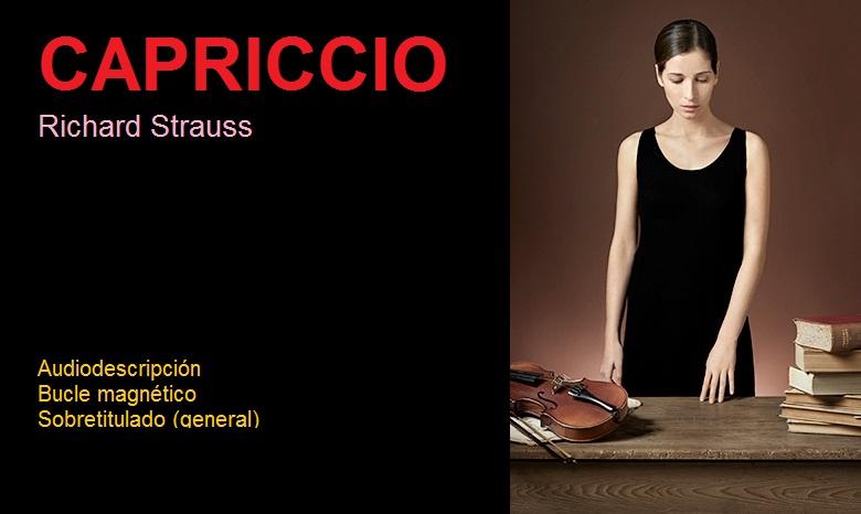 Cartel de la ópera Capriccio.