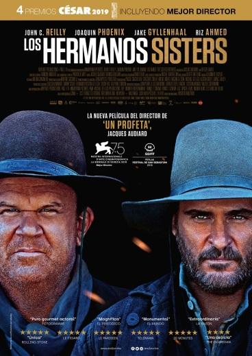 Resultado de imagen de cartel los hermanos sisters en wordpress