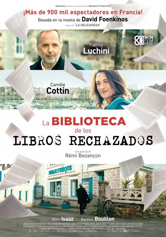 Cartel de la película La Biblioteca de los Libros Rechazados.