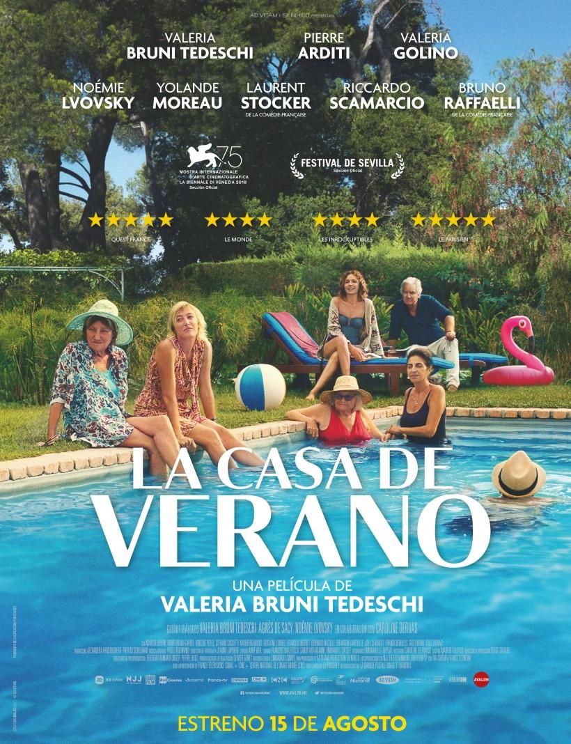 Cartel de la película La Casa de Verano