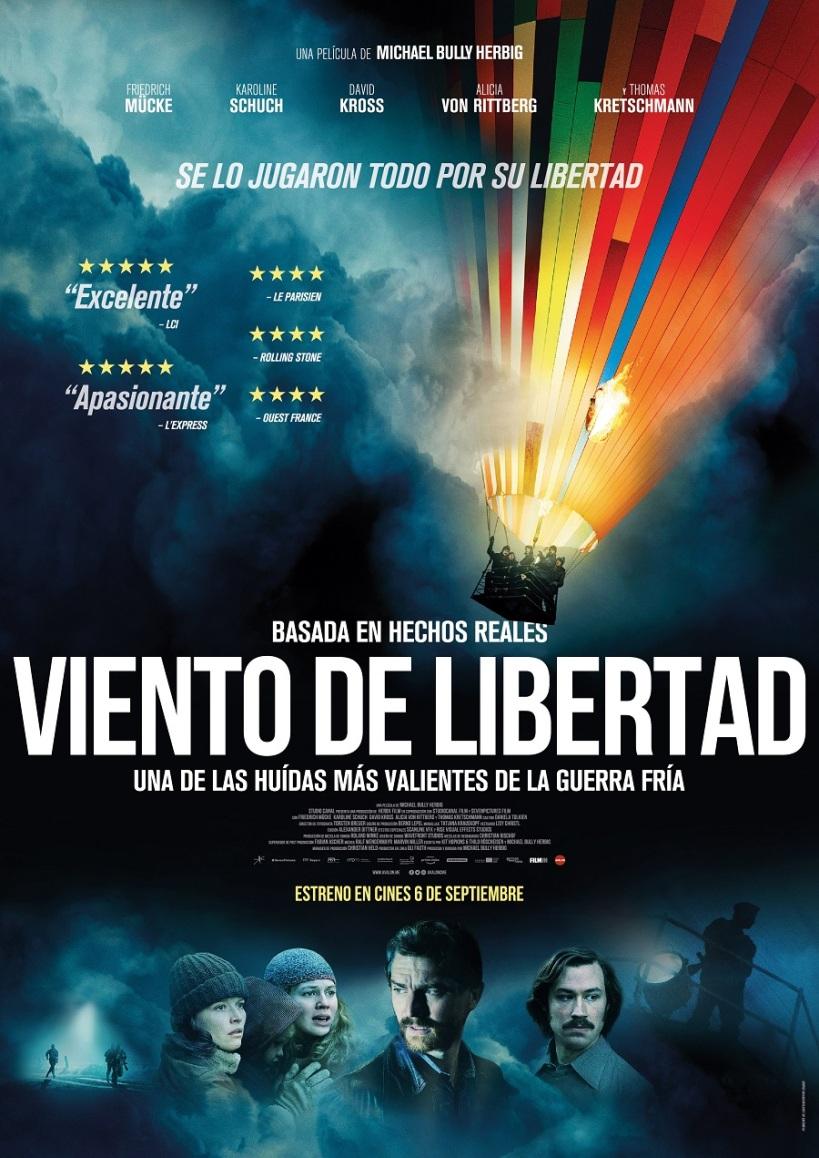 Cartel de la película Viento de Libertad