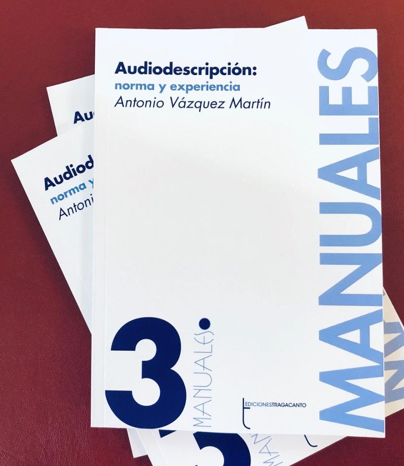 Portada del libro Audiodescripcion, norma y experiencia