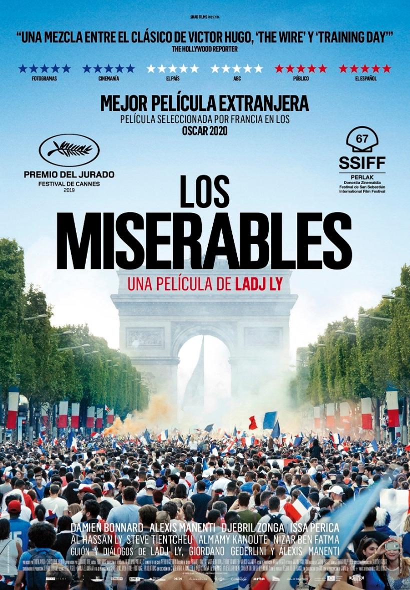 Cartel de la película Los Miserables