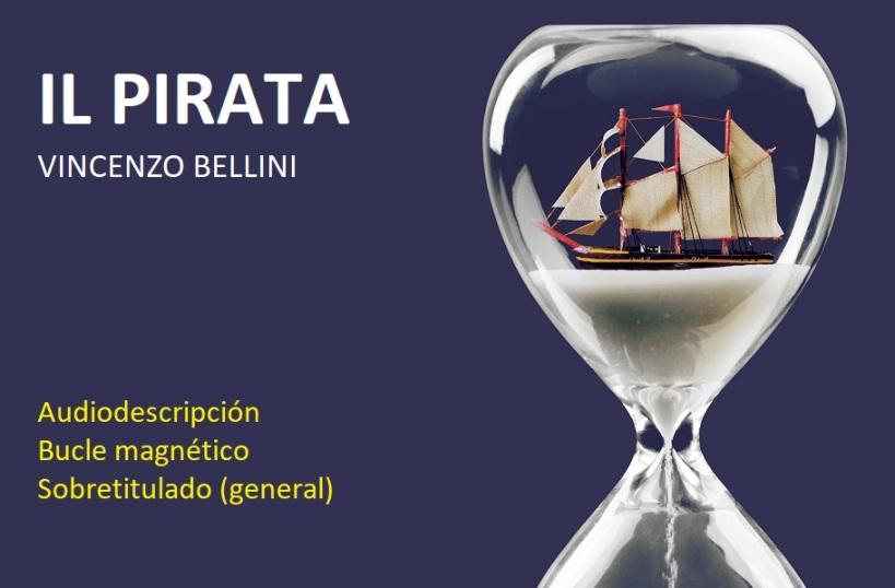 Cartel de la ópera Il Pirata