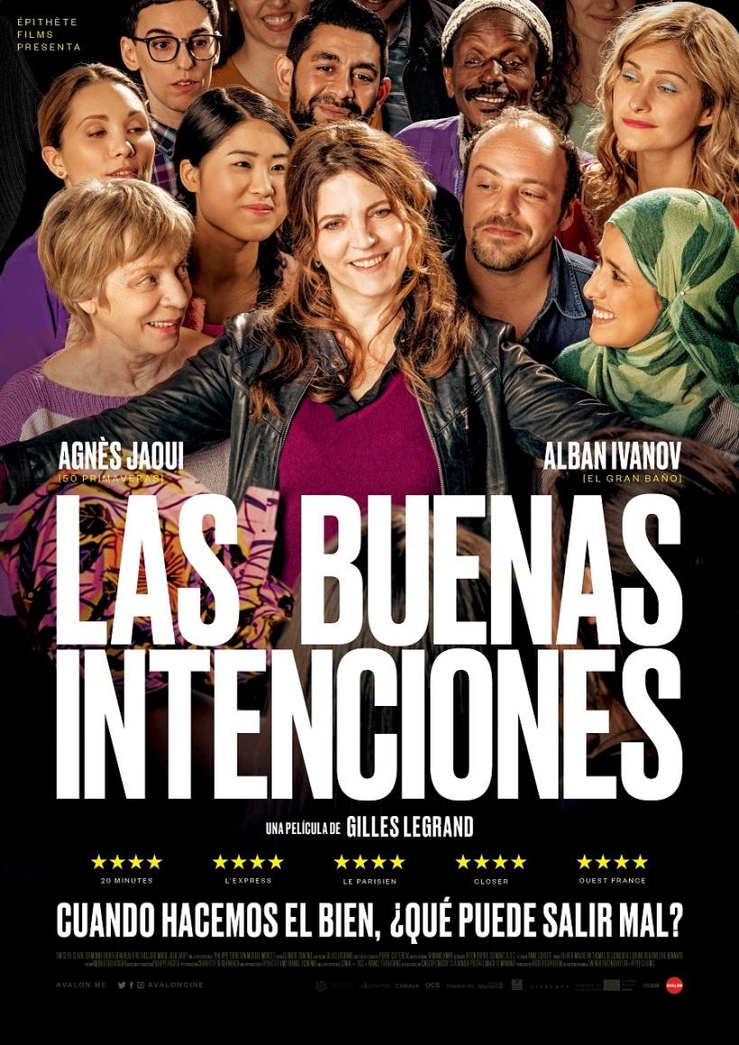 Cartel de la película Las Buenas Intenciones, de Gilles Legrand