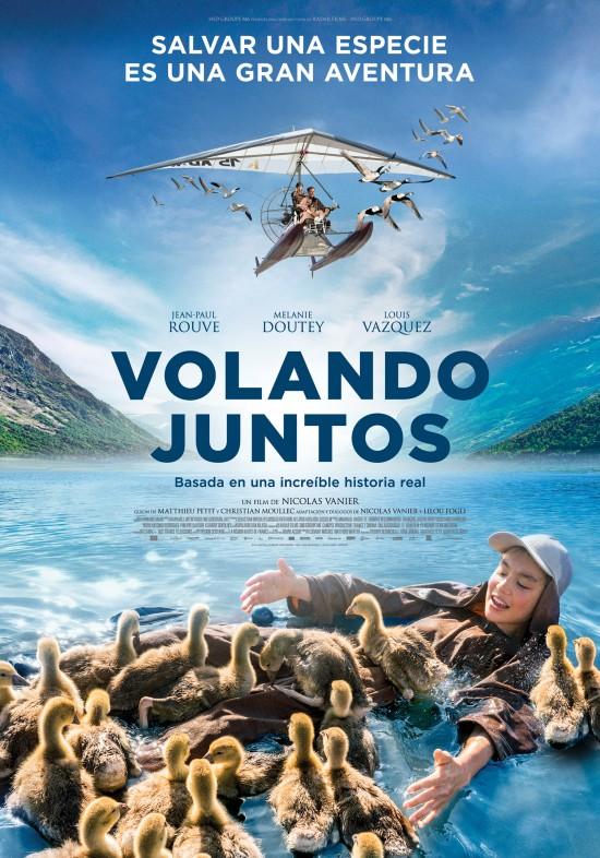 Cartel de la película Volando Juntos