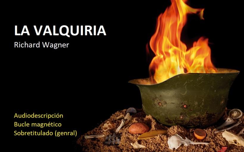 Cartel de la ópera La Valquiria