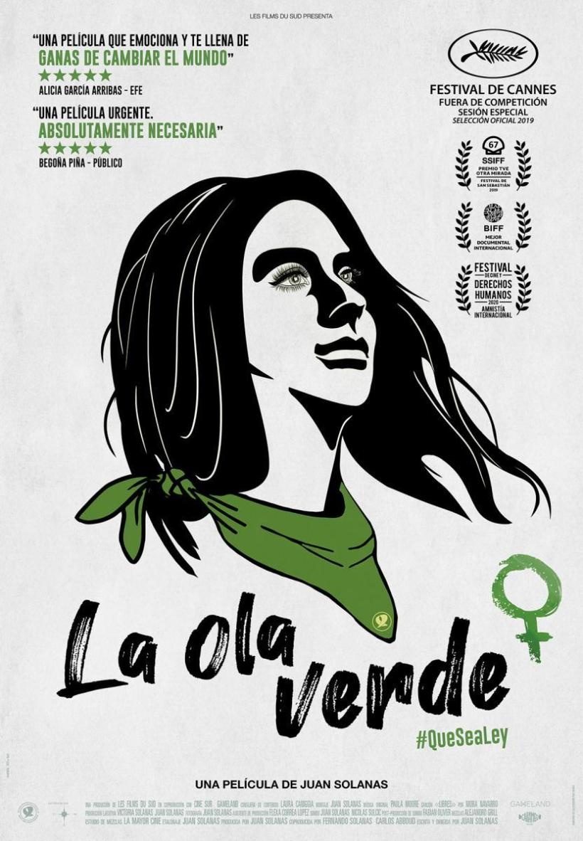 Cartel del documental La Ola Verde