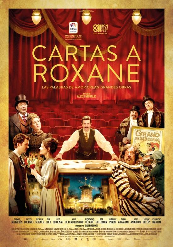 Cartel de la película Cartas a Roxane