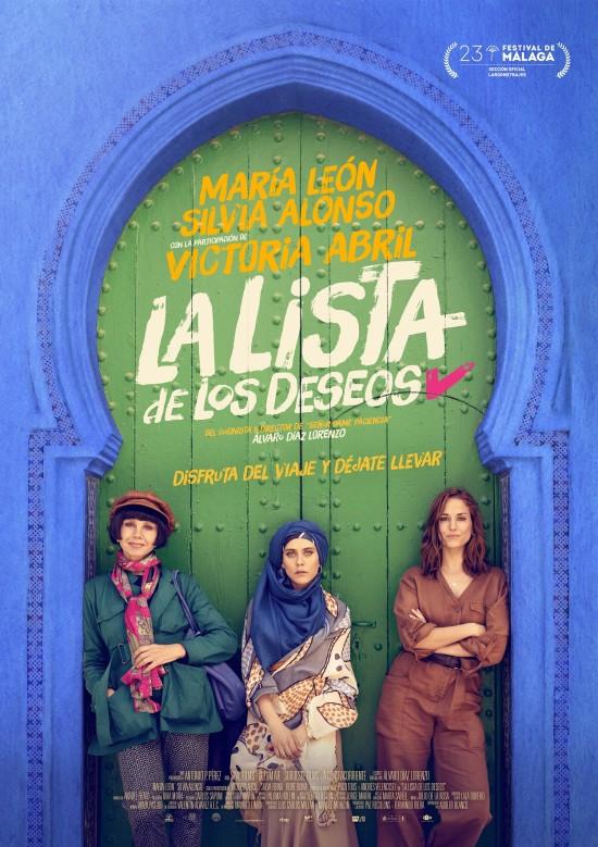 Cartel de la película La Lista de los deseos.