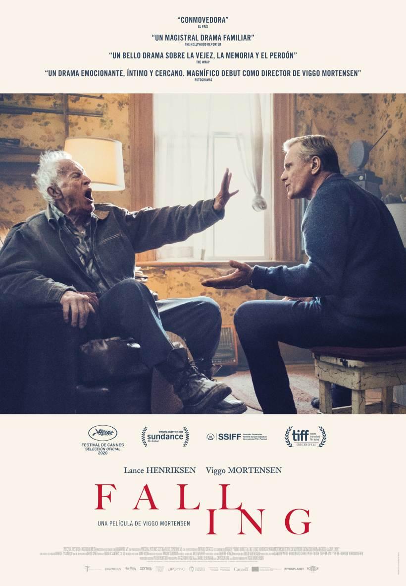 Cartel de la película Falling