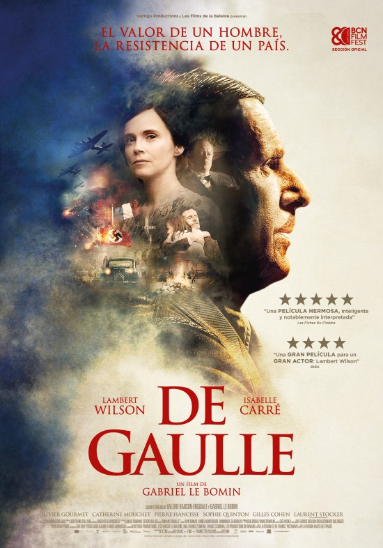 Cartel de la película De Gaulle