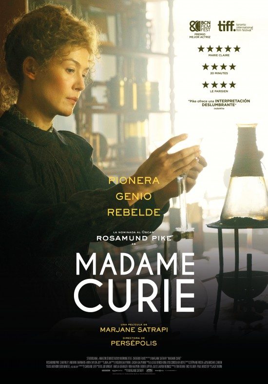 Cartel de la película Madame Curie