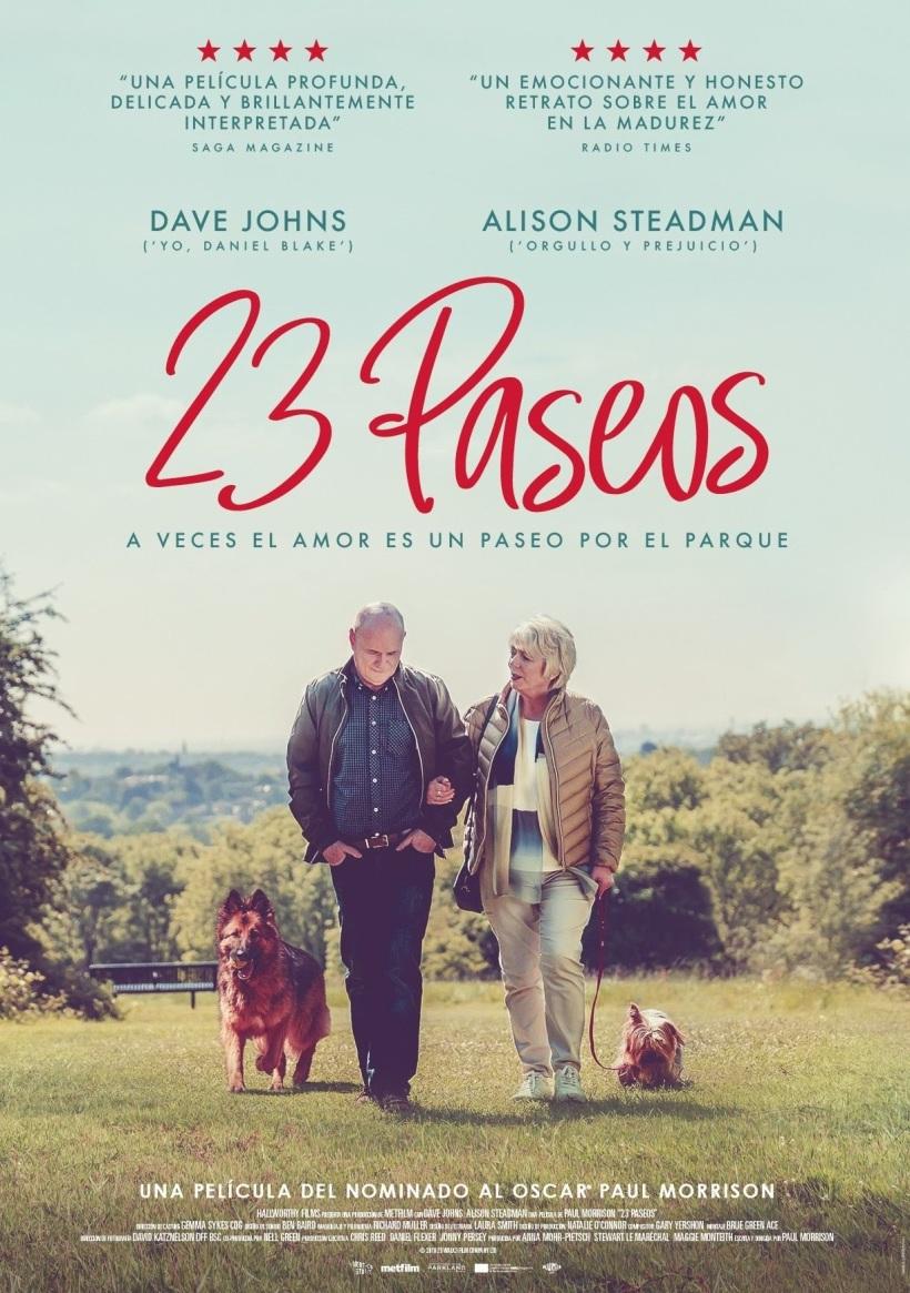 Cartel de la película 23 paseos.
