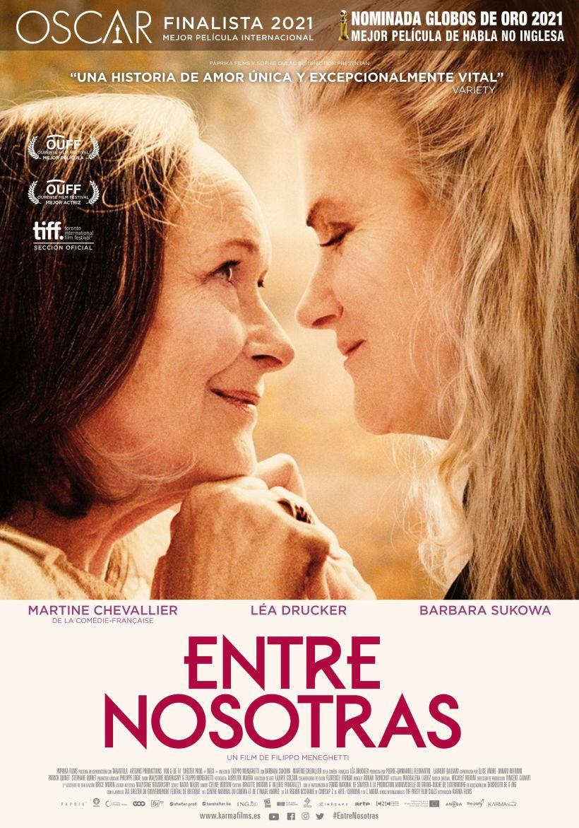 Cartel de la película Entre Nosotras.