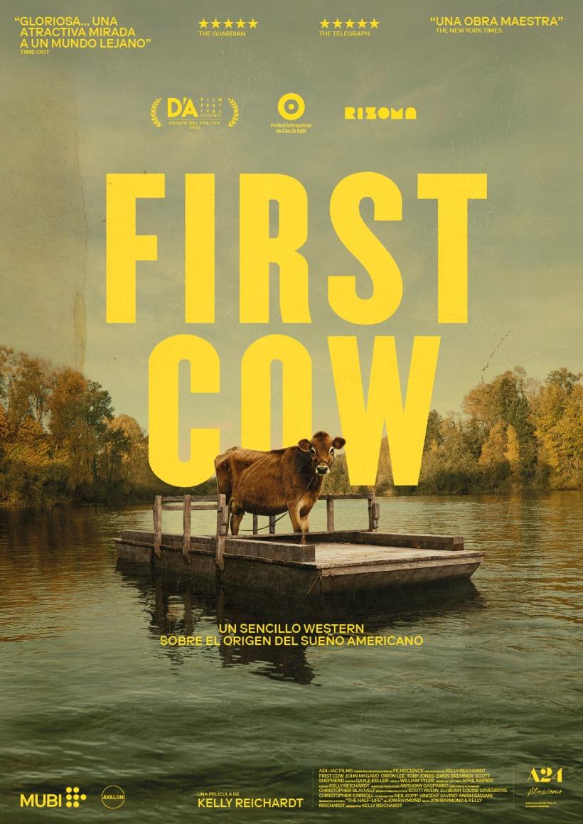 Cartel de la película First Cow