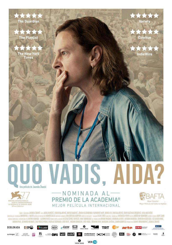 Cartel de la película ¿Quo vadis, Aida?